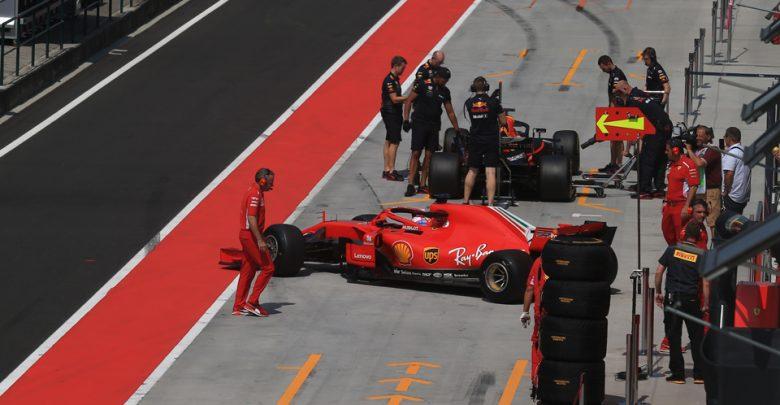 Ferrari Raikkonen testing