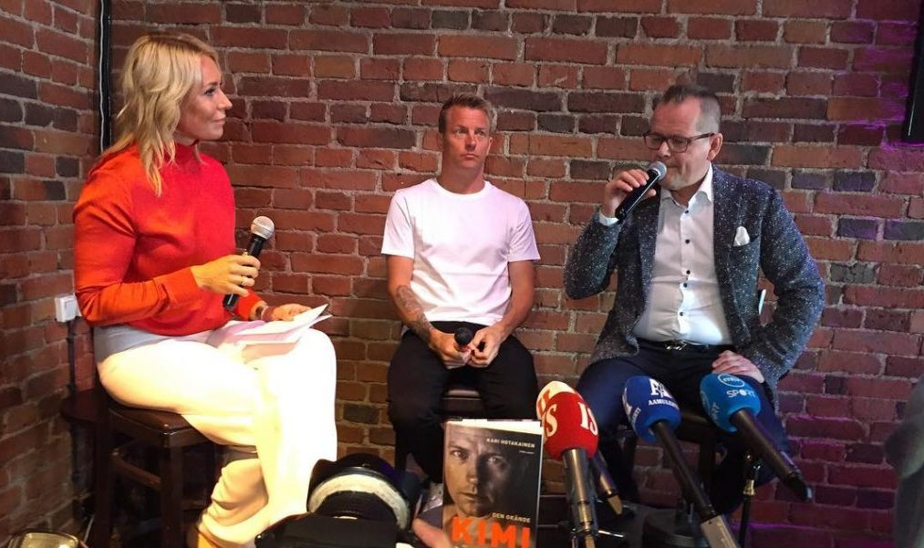 Raikkonen book launch