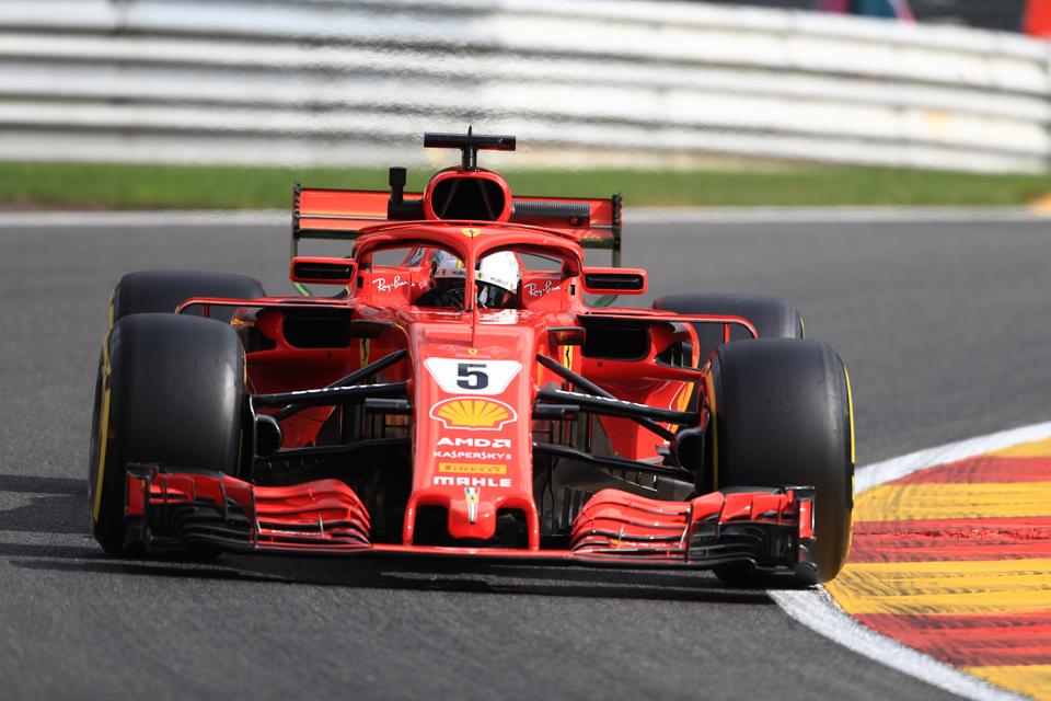 Sebastian Vettel Ferrari Belgian Grand Prix