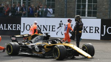 Nico Hulkenberg Renault Belgian Grand Prix