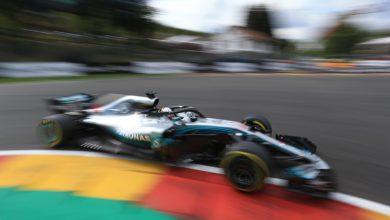 Lewis Hamilton Mercedes Belgian Grand Prix