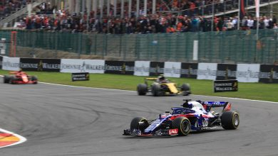 Pierre Gasly Toro Rosso Belgian Grand Prix