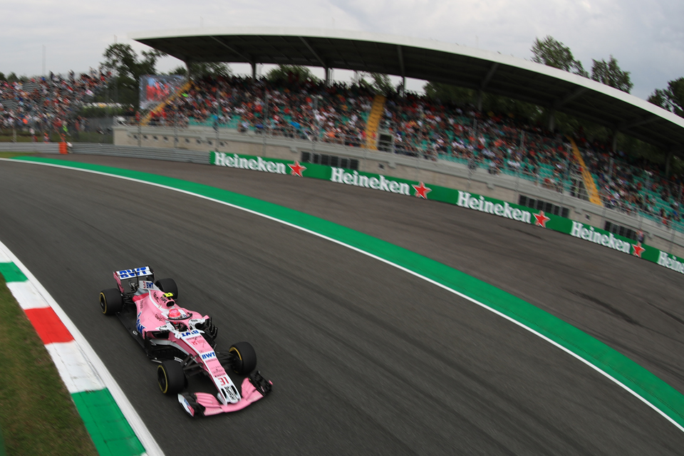 Ocon Force India Italian Grand Prix