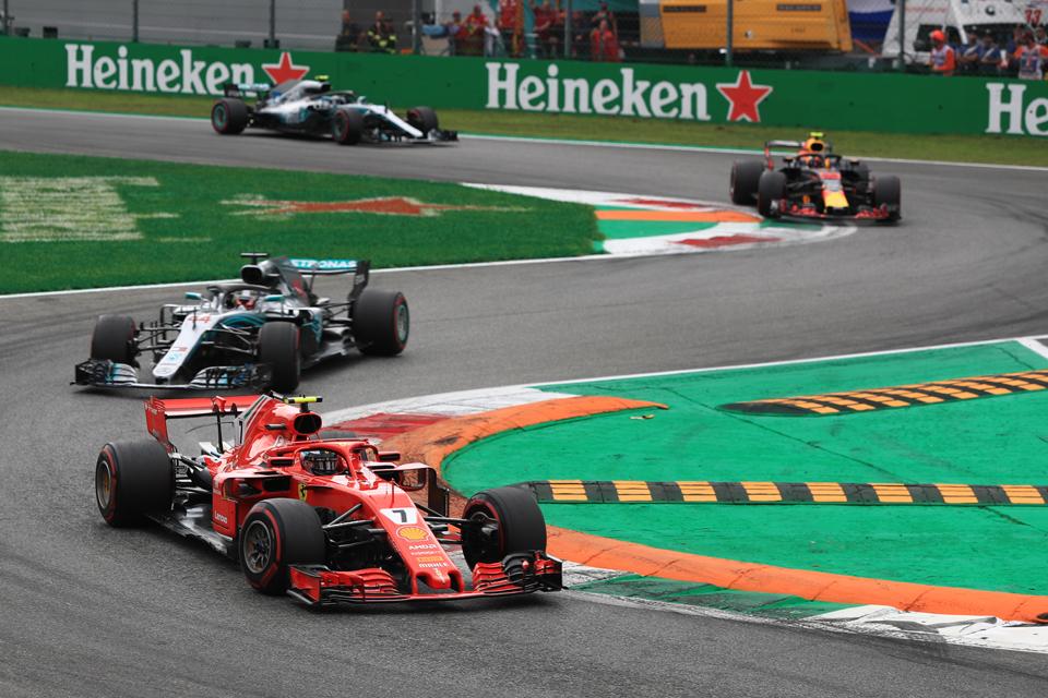Ferrari Kimi Raikkonen Mercedes Lewis Hamilton