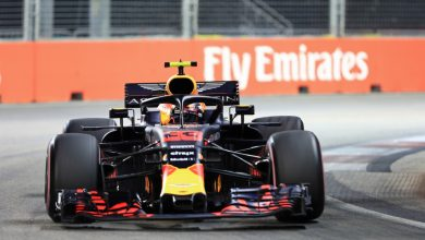 Max Verstappen Red Bull Racing Singapore Grand Prix