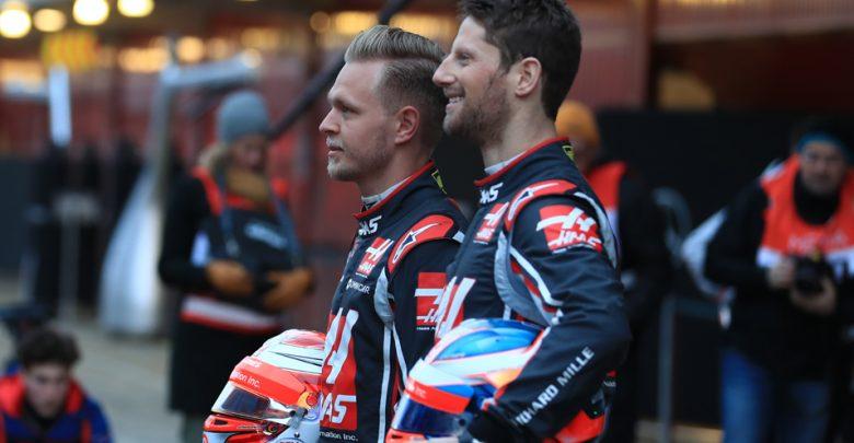 Haas Grosjean Magnussen