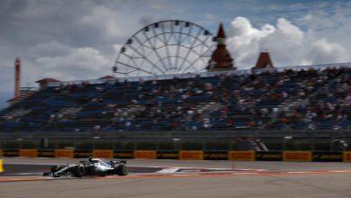 Russian Grand Prix Mercedes