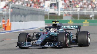Lewis Hamilton Mercedes Russian Grand Prix