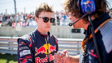 Kvyat Ferrari Red Bull Toro Rosso