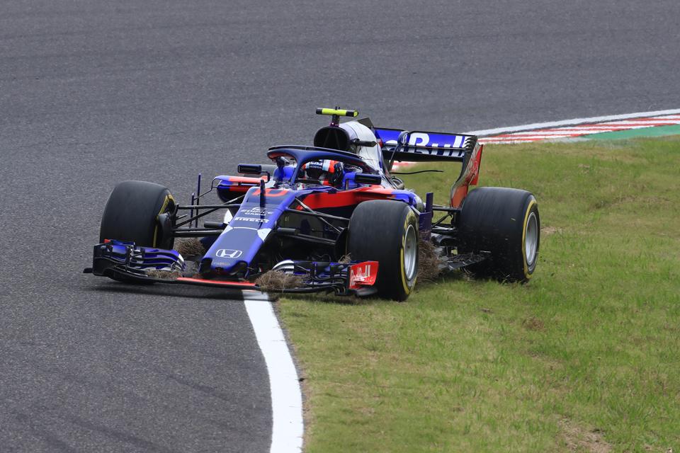 Gasly Honda Toro Rosso