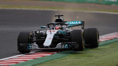 Hamilton Suzuka Mercedes