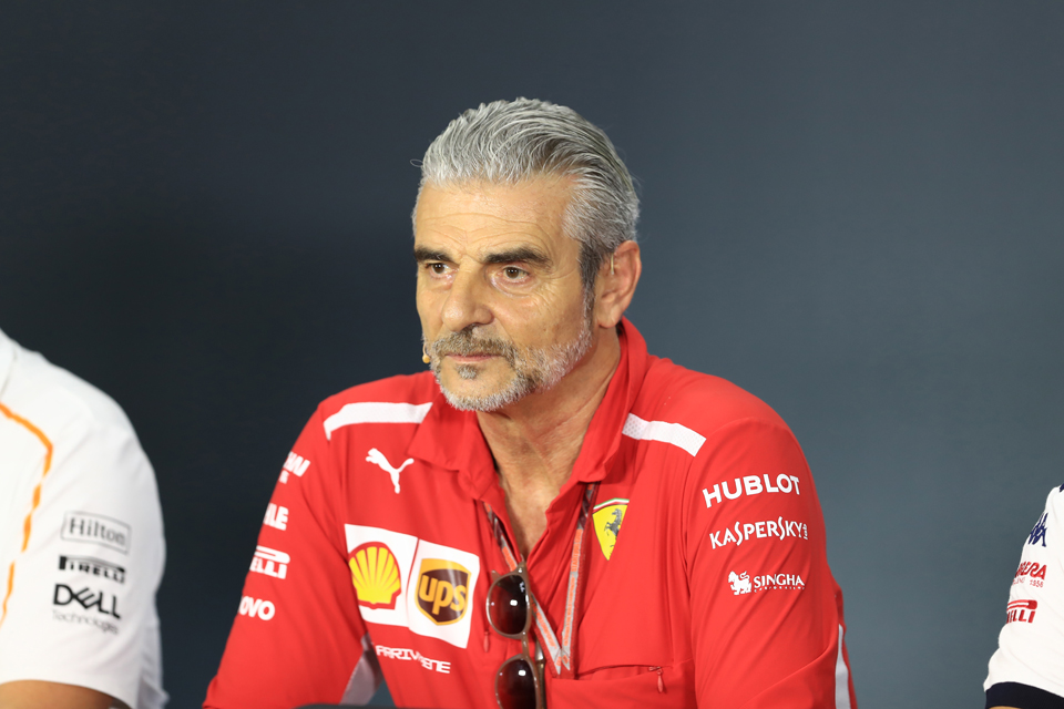Ferrari Maurizio Arrivabene