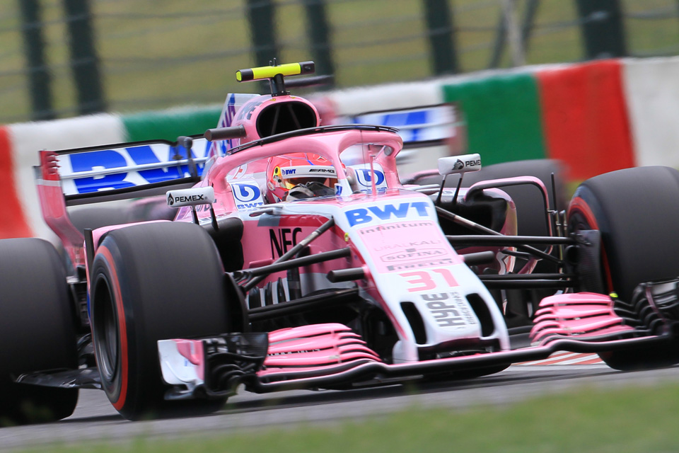 Esteban Ocon Force India Japanese Grand Prix