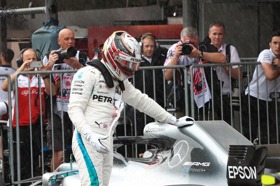 Lewis Hamilton Mercedes Japanese Grand Prix