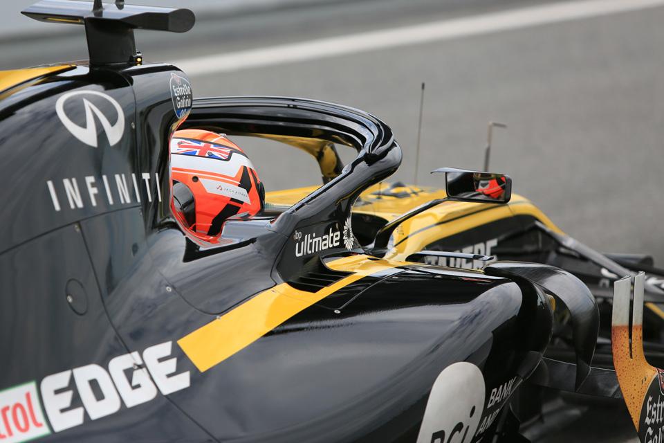 Renault test Suzuka pirelli