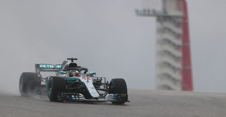 Hamilton Mercedes United States Grand Prix