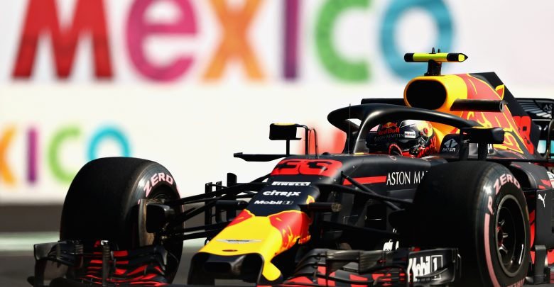 Max Verstappen Red Bull Racing Mexican Grand Prix