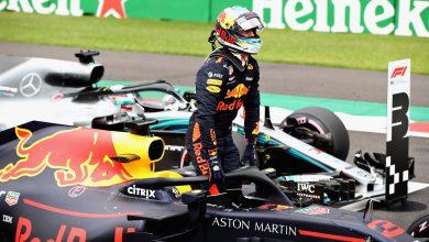 Ricciardo Red Bull Racing