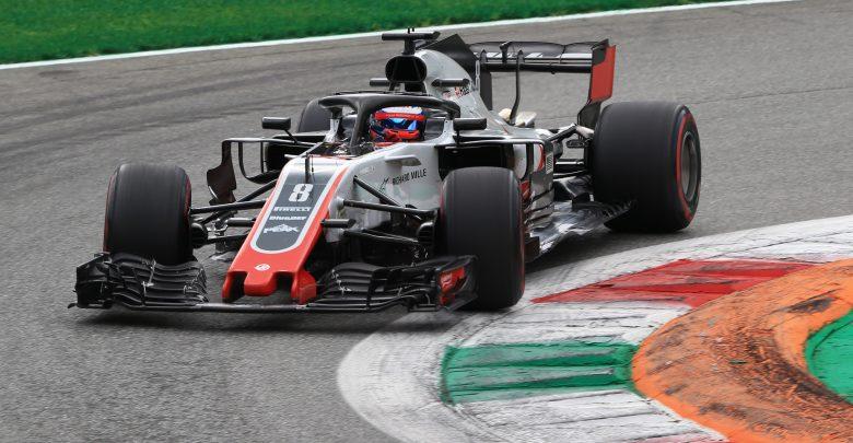Grosjean Haas Monza