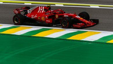 Ferrari results FP1