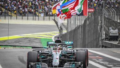Hamilton Brazil race