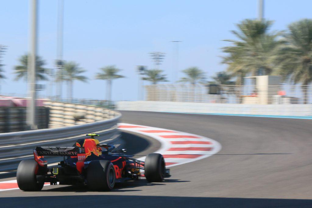 Abu Dhabi practice Verstappen