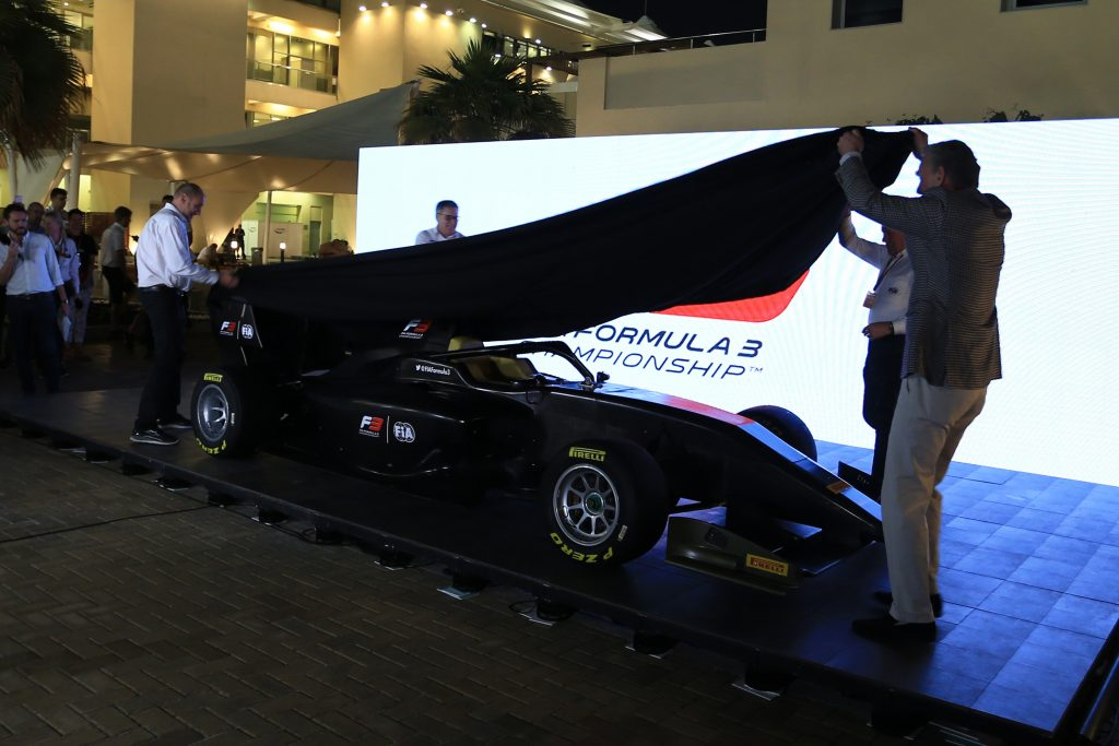 F3 Formula 3 car launch