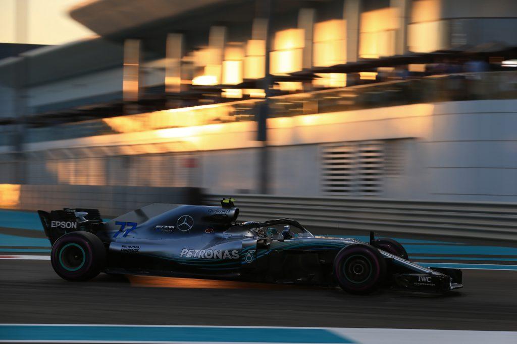 FP2 Bottas Mercedes