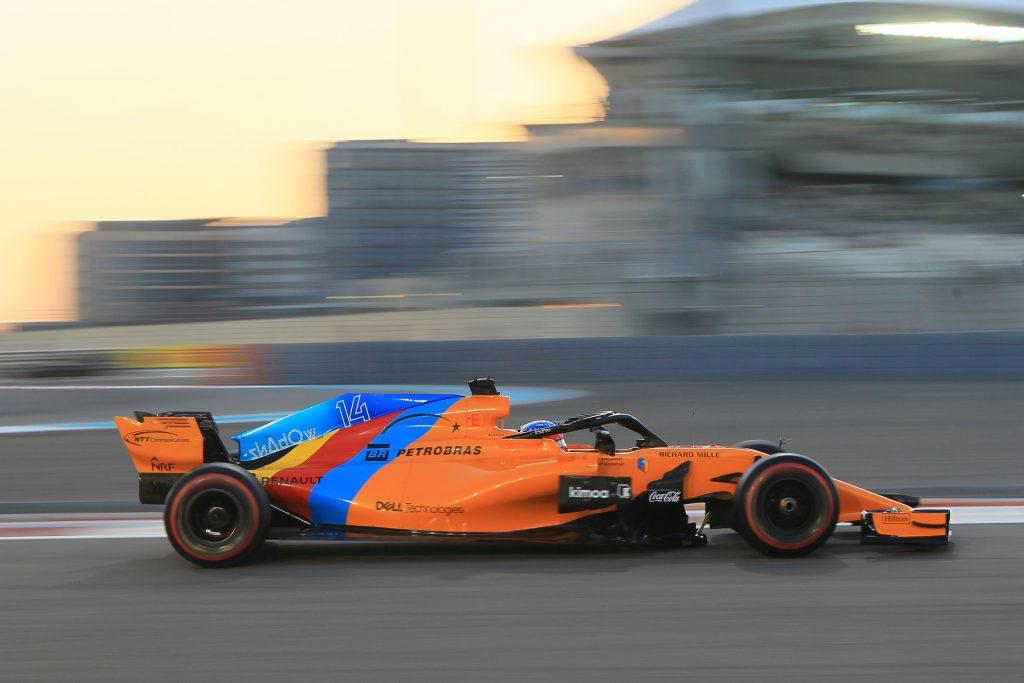 McLaren Abu Dhabi Grand Prix