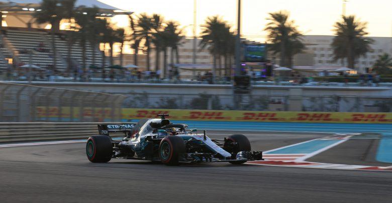 Hamilton Mercedes Abu Dhabi Grand Prix