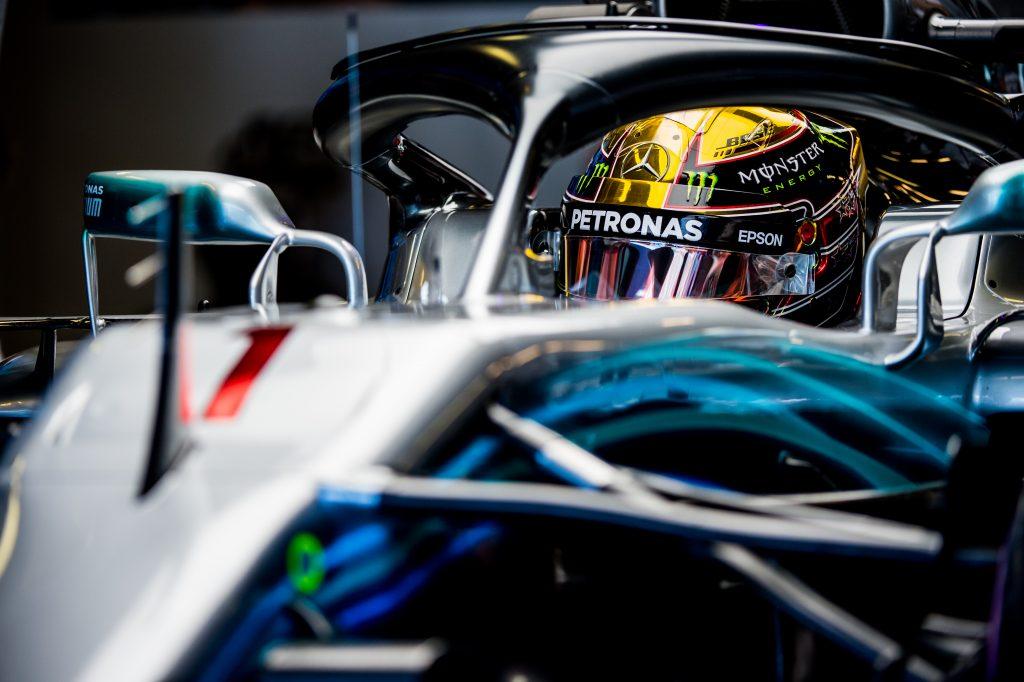 Hamilton Qualifying Abu Dhabi