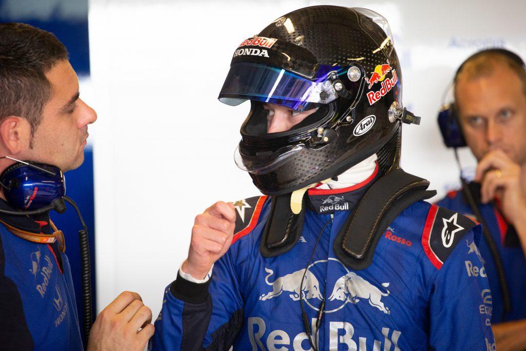 Kvyat Toro Rosso
