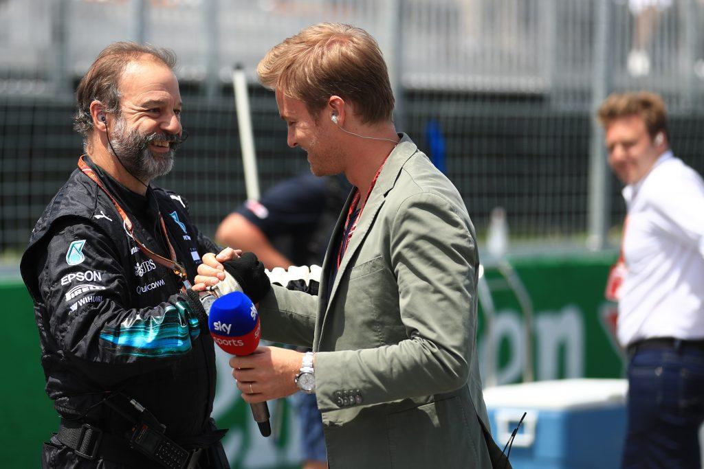Rosberg Mercedes F1