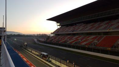 F1 Testing Live