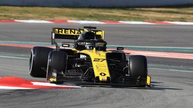 Testing Circuit de Barcelona-Catalunya Renault Hulkenberg