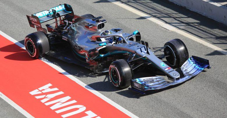 Mercedes F1 Testing