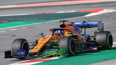 McLaren Barcelona Test