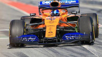 Carlos Sainz McLaren Barcelona Test One Testing