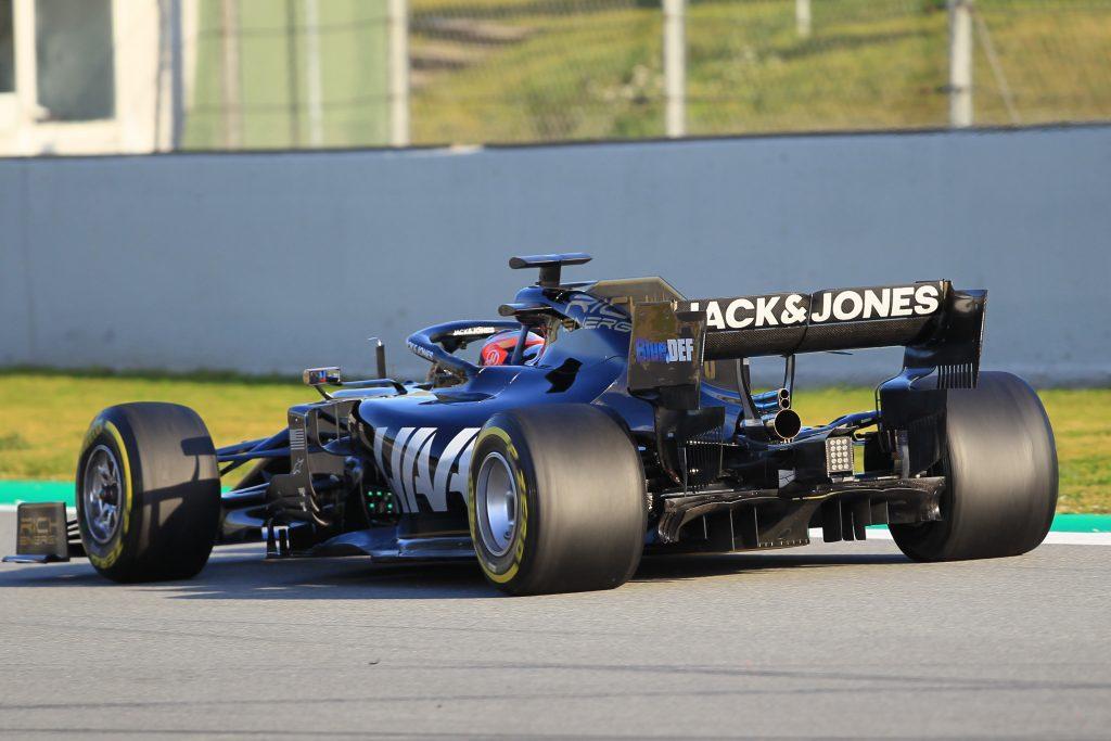 Haas Barcelona Testing