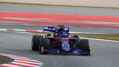 Toro Rosso Barcelona Test Day Two
