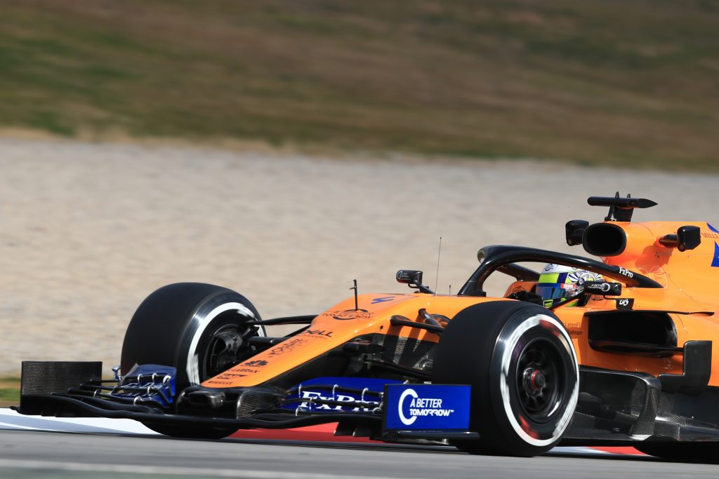 Norris McLaren MCL34 Barcelona testing day two