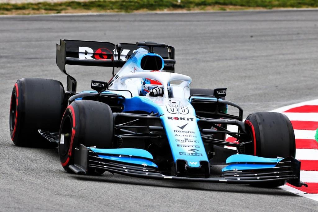 Williams Barcelona Russell