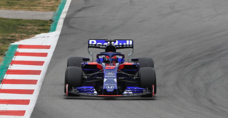 Kvyat Toro Rosso Barcelona Testing