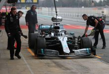 Mercedes testing