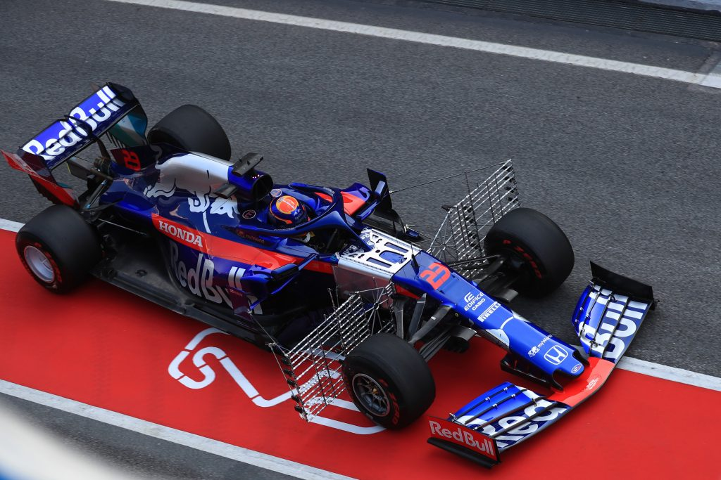 Toro Rosso Barcelona Testing