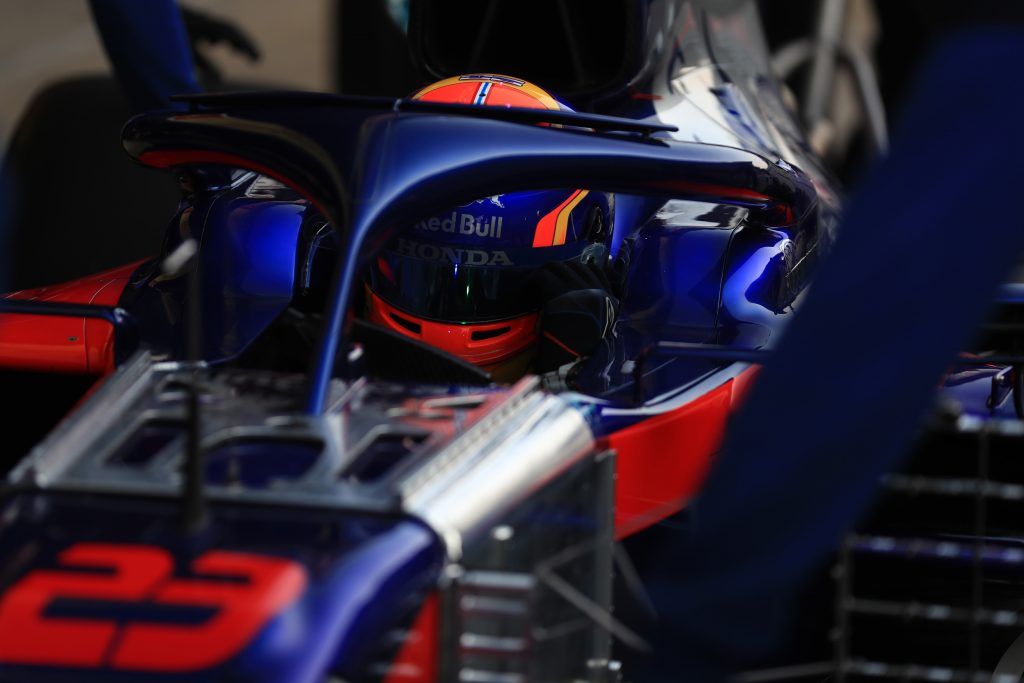 Toro Rosso Barcelona Testing Albon