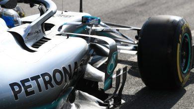 Mercedes testing Bottas