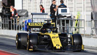 Hulkenberg Renault Formula 1 testing