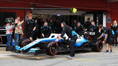 F1 Formula 1 testing picture