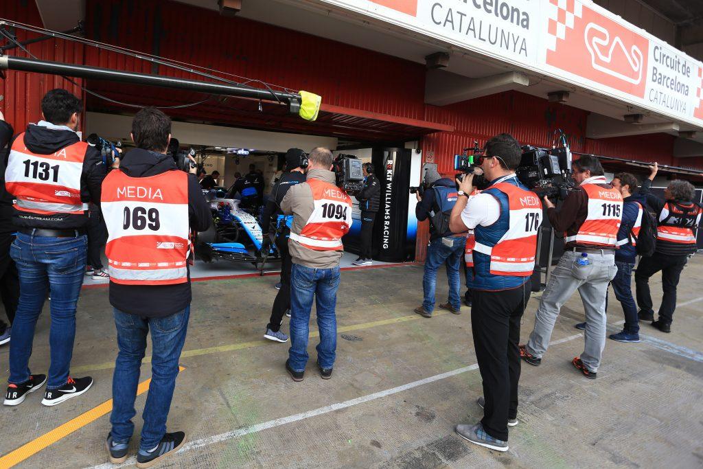 F1 Testing Williams picture